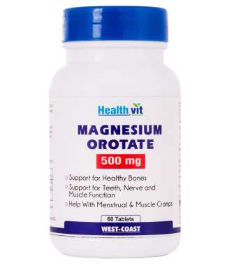 HealthVit Magnesium Orotate 500mg Tablet