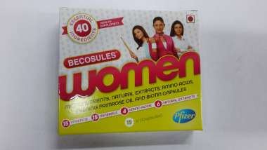 BECOSULES WOMEN CAPSULE