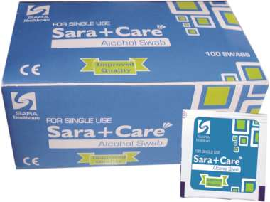 SARA CARE ALCOHOL SWAB