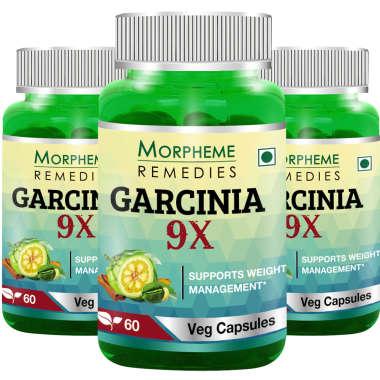 MORPHEME GARCINIA 9X CAPSULE  PACK OF 3