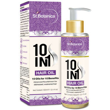 ST.BOTANICA 10 IN 1 HAIR OIL