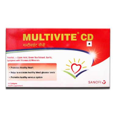MULTIVITE CD SOFT GELATIN CAPSULE