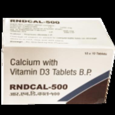 RNDCAL -500 TABLET