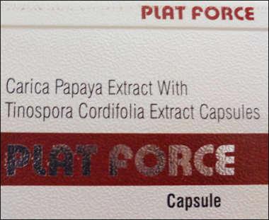 PLAT FORCE CAPSULE