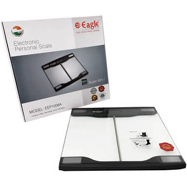 EAGLE ELECTRONIC PERSONAL WEIGHING SCALE EEP1006A