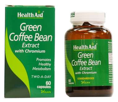 HEALTHAID GREEN COFFEE BEAN EXTRACT WITH CHROMIUM CAPSULE