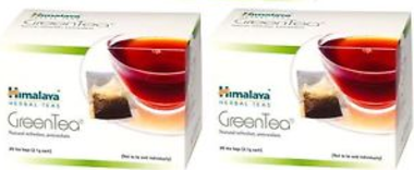 HIMALAYA GREEN TEA  SACHET PACK OF 2