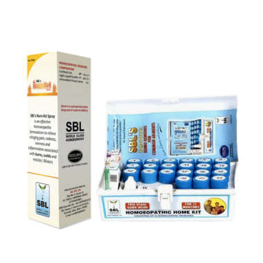 SBL119 HOMEOPATHIC HOME KIT WITH BURN SPRAY (COMBO OF 2)
