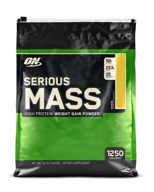 OPTIMUM NUTRITION SERIOUS MASS BANANA