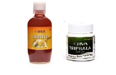 JIVA TRIPHALA TABLET-60 WITH AMLA JUICE-500ML