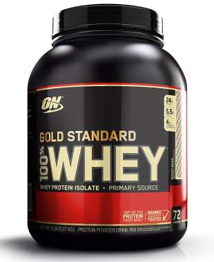 ON GOLD STANDARD 100% WHEY POWDER ROCKY ROAD