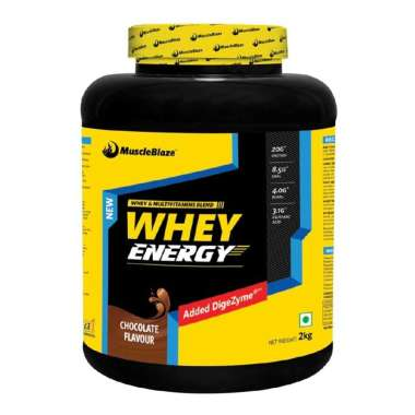 MUSCLEBLAZE WHEY ENERGY WITH DIGEZYME POWDER CHOCOLATE