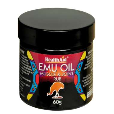 HEALTHAID EMU OIL MUSCLE & JOINT RUB