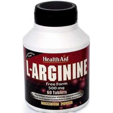 HEALTHAID L-ARGININE 500MG TABLET