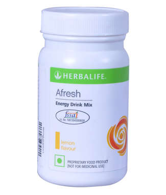 Herbalife Afresh Energy Drink Mix Lemon