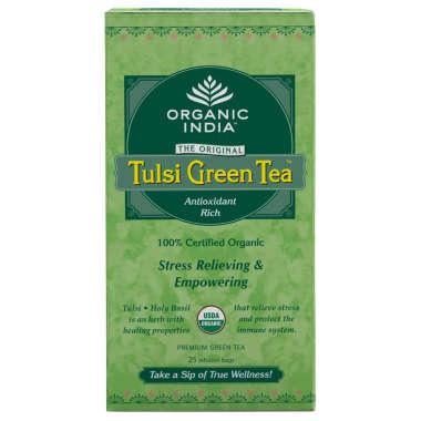 ORGANIC INDIA TULSI GREEN TEA