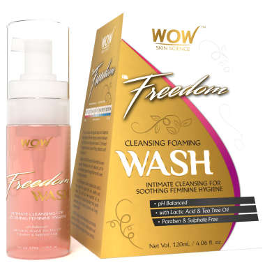 WOW Freedom Cleansing Foaming        Wash