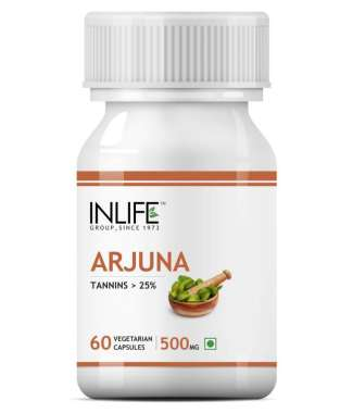 INLIFE Arjuna Extract 500mg Capsule