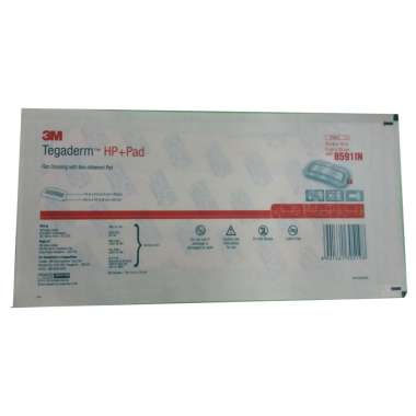 3M Tegaderm Hp+pad 8591IN Film Dressing with Non-Adherent Pad