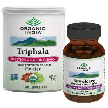 Organic India Constipation Relief Kit