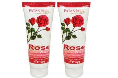 PATANJALI ROSE  FACE WASH (PACK OF 2)