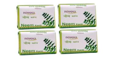 PATANJALI NEEM KANTI BODY CLEANSER (PACK OF 4) SOAP