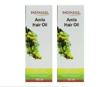 PATANJALI KESH KANTI AMLA HAIR OIL (PACK OF 2)