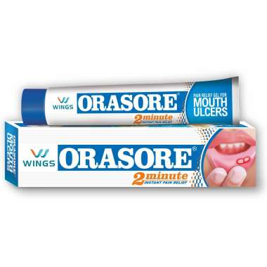 ORASORE MOUTH ULCER RELIEF GEL
