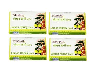 PATANJALI LEMON HONEY KANTI BODY CLEANSER (PACK OF 4)