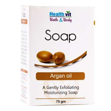 HealthVit Bath & Body Argan Soap