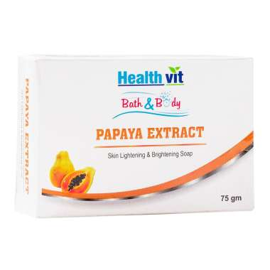 HealthVit Bath & Body Papaya Extract Soap