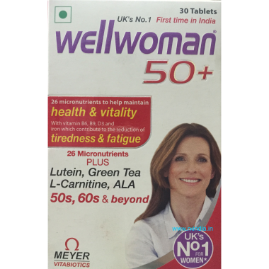 WELLWOMAN 50+ TABLET