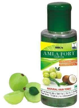 SBL AMLA FORT HAIR OIL