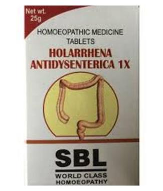 SBL HOLARRHENA ANTIDYSENTERICA TABLET 1X