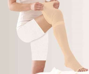 Tynor I-70 Medical Compression Stocking Mid Thigh Class 2 S