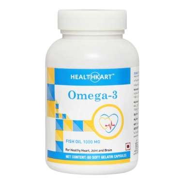 HealthKart Omega-3 Fish Oil 1000mg Capsule