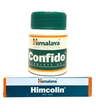 HIMALAYA SEXUAL WELLNESS COMBO (HIMCOLIN GEL 30GM & CONFIDO 60 TABLETS)