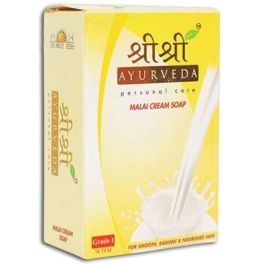 Sri Sri Ayurveda Malai Cream Soap