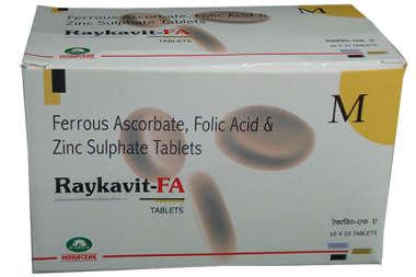 Raykavit-FA Tablet