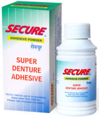 Secure Adhesive Powder