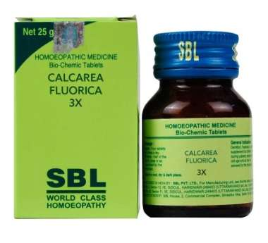 SBL CALCAREA FLUORICA BIOCHEMIC TABLET 3X