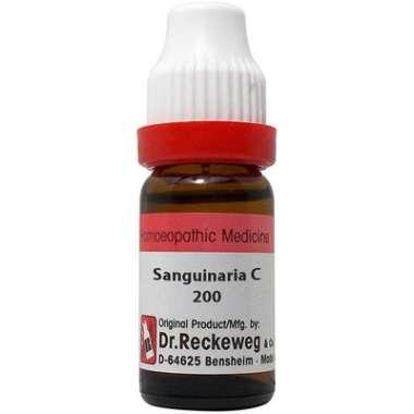 DR. RECKEWEG SANGUINARIA C DILUTION 200C