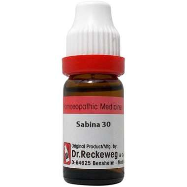 DR. RECKEWEG SABINA DILUTION 30CH