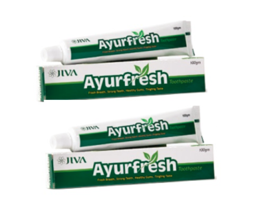 JIVA AYURFRESH TOOTHPASTE PACK OF 2