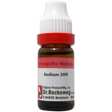 DR. RECKEWEG IODIUM DILUTION 200CH