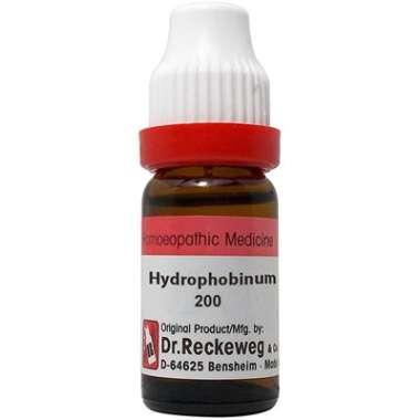 DR. RECKEWEG HYDROPHOBINUM DILUTION 200CH
