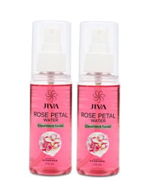 JIVA ROSE PETAL WATER PACK OF 2