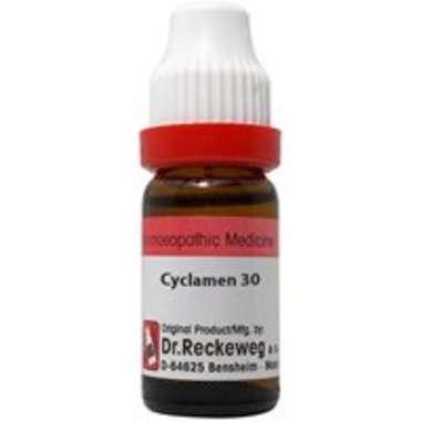 DR. RECKEWEG CYCLAMEN DILUTION 30CH
