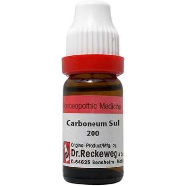 DR. RECKEWEG CARBONEUM SULPH DILUTION 200CH