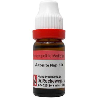 DR. RECKEWEG ACONITE NAP DILUTION 30C